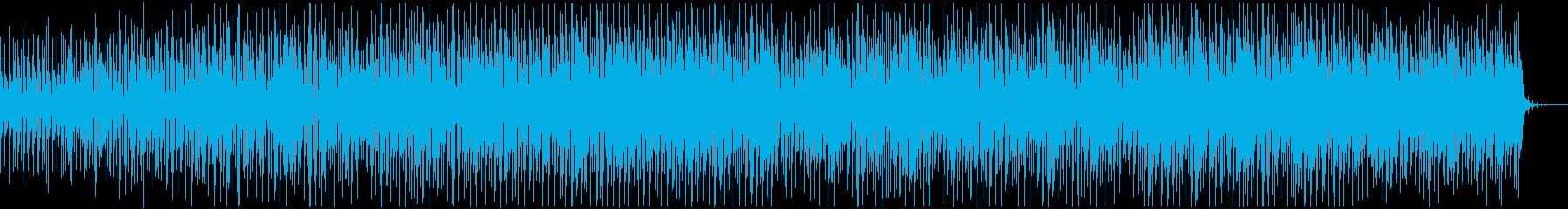 デジタル/チュートリアル/解説/近未来的の再生済みの波形