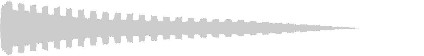 Chip PitchDown 音色N05の未再生の波形