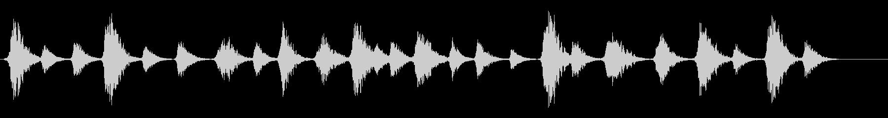 劇伴 朗読 心の声 抽象的の未再生の波形