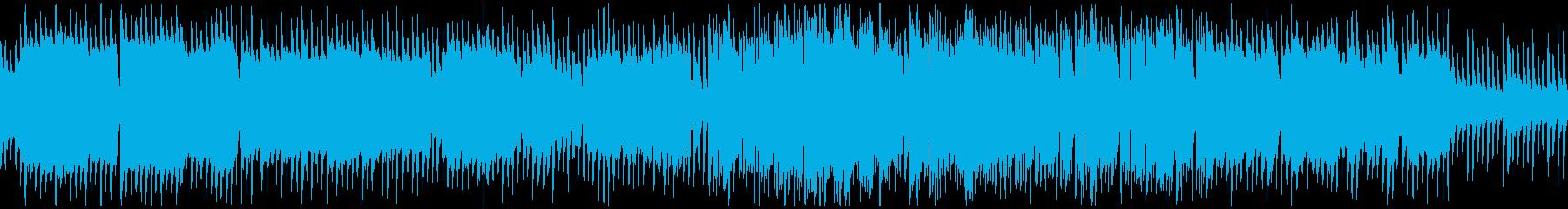 トイピアノとやわらかいサックス※ループ版の再生済みの波形