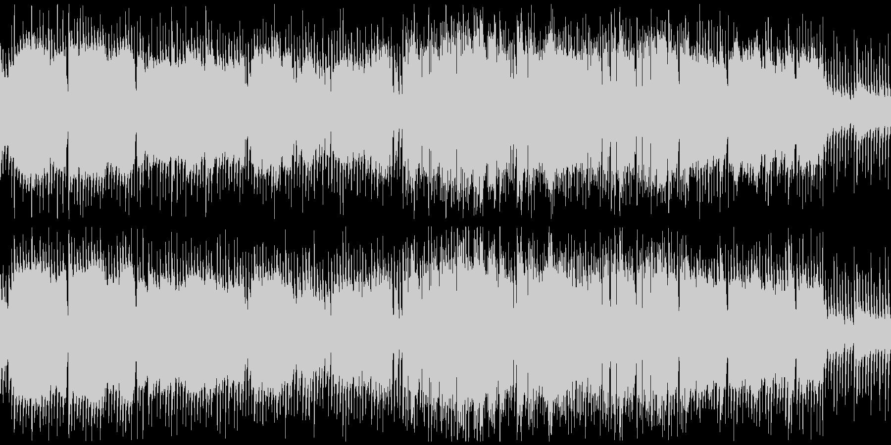 トイピアノとやわらかいサックス※ループ版の未再生の波形