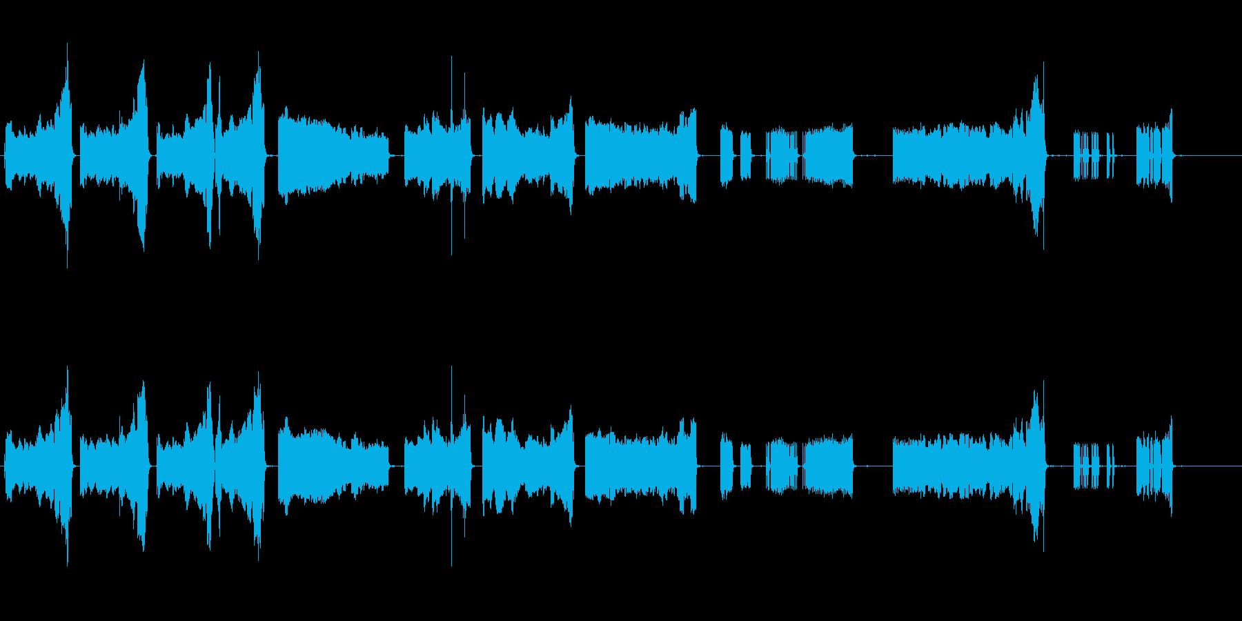 警報車タイプ3。上昇音を調整すると...の再生済みの波形