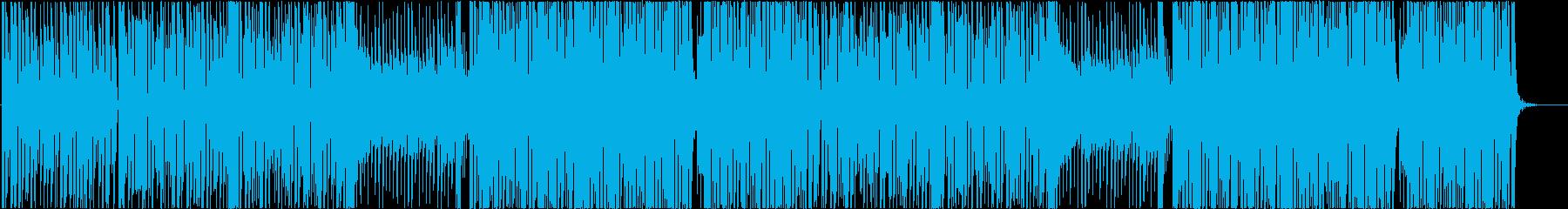 キュートなK-Popトラック♬の再生済みの波形
