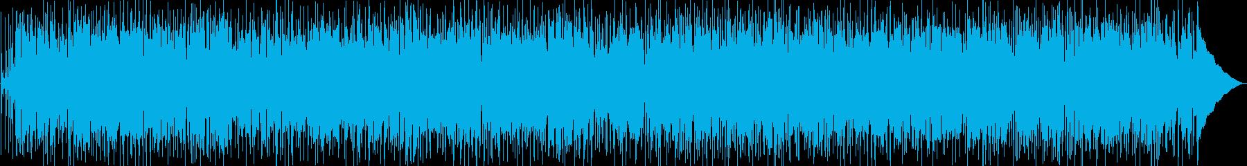真夜中を走り抜けていくようなファンクの再生済みの波形
