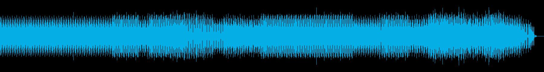 遅い暗めなハウスの再生済みの波形