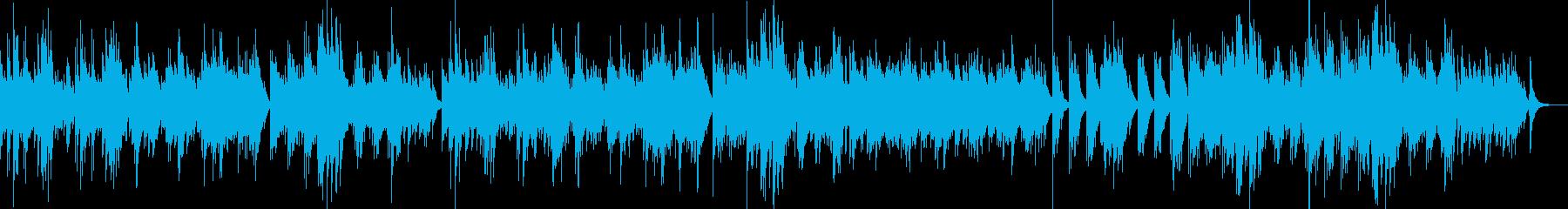 ガットギターの音色が優しいアンサンブル の再生済みの波形