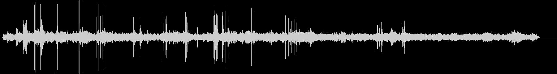 郵便局チリ郵便局-音声書き込み機の未再生の波形