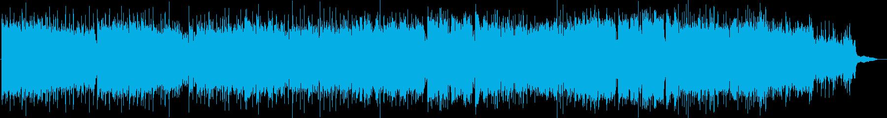 テンポ速めのケルト系民族調オリジナルですの再生済みの波形