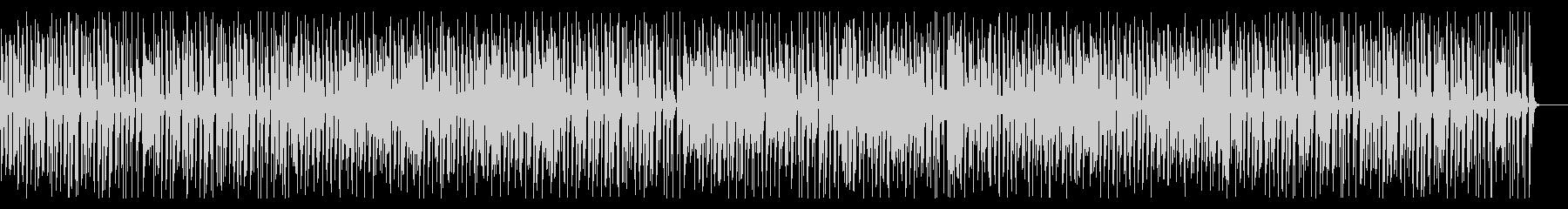 カフェBGM・陽気なジプシージャズギターの未再生の波形