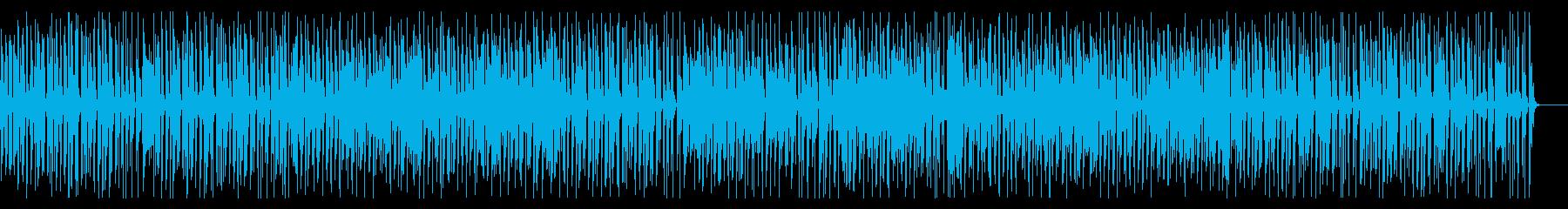 カフェBGM・陽気なジプシージャズギターの再生済みの波形