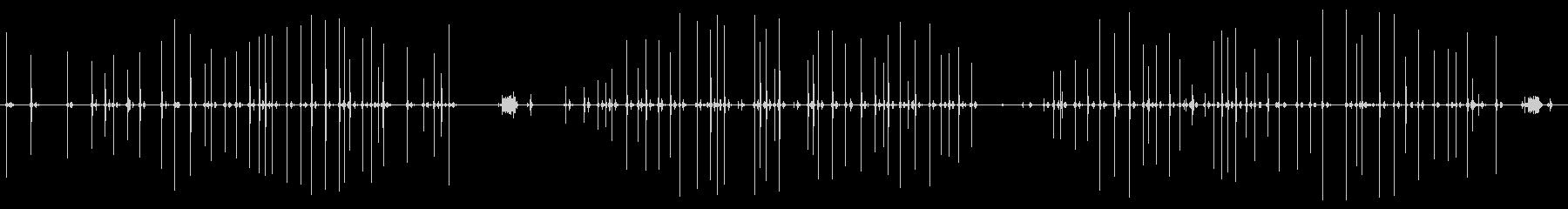 古いマニュアルタイプライター:タイ...の未再生の波形