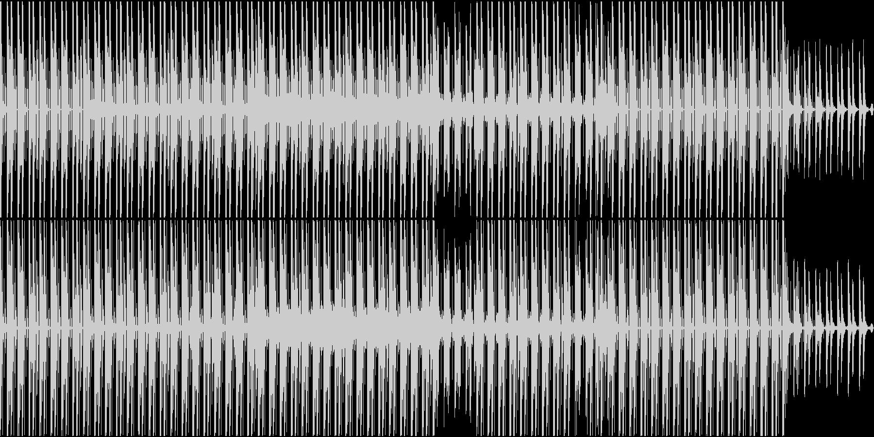[ループ対応]クールで軽快なシンセポップの未再生の波形