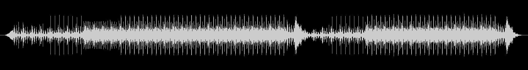 ほのぼのした、かわいい四つ打ちエレクトロの未再生の波形