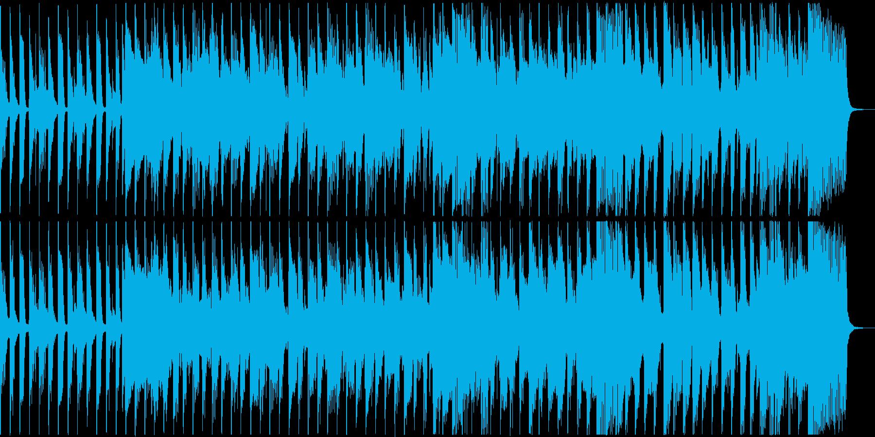 明るいトロピカルな雰囲気の30秒CMの再生済みの波形