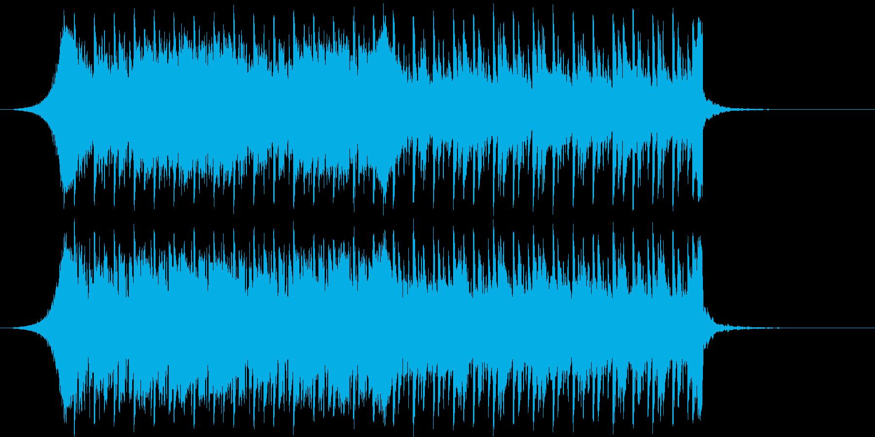 【爽やか】美しく、明るく、透明感BGMの再生済みの波形