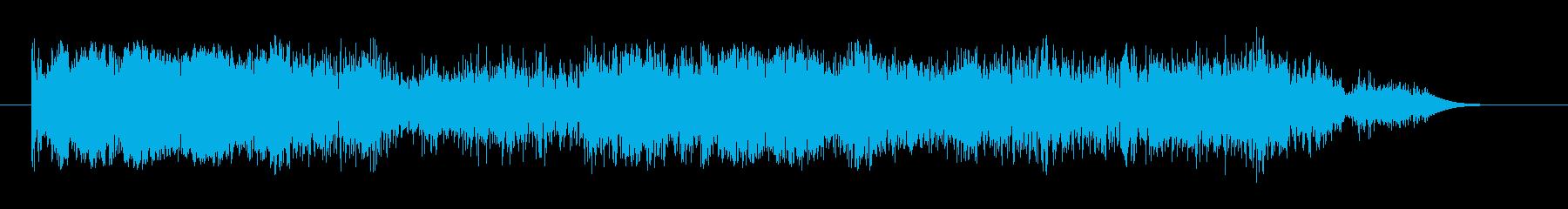 ショートモジュレートスタティックリ...の再生済みの波形