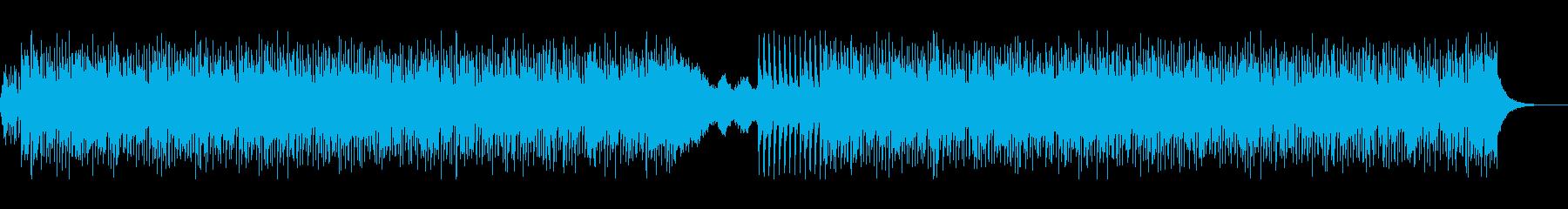 コミカルなトロピカルEDMの再生済みの波形