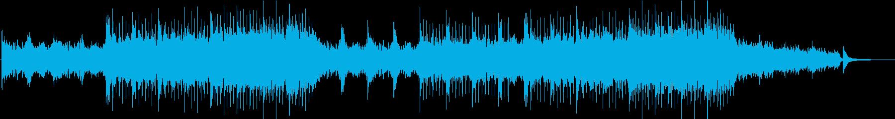透明感のあるピアノ・アンビエントの再生済みの波形