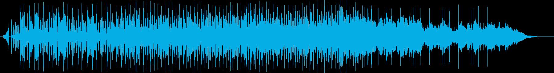 思わず踊りたくなるテクノポップの再生済みの波形