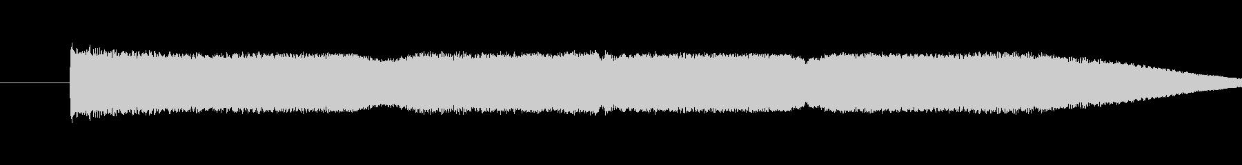 ヨーヨートランジションの未再生の波形
