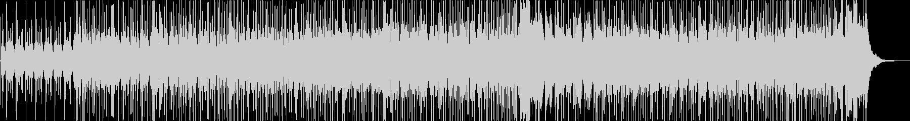 活気ありコミカルなポップハウス曲の未再生の波形
