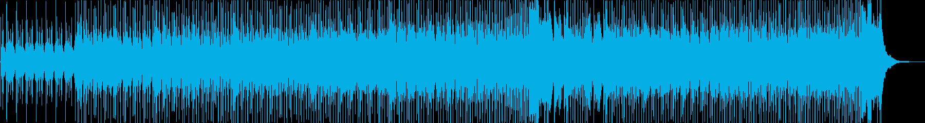 活気ありコミカルなポップハウス曲の再生済みの波形