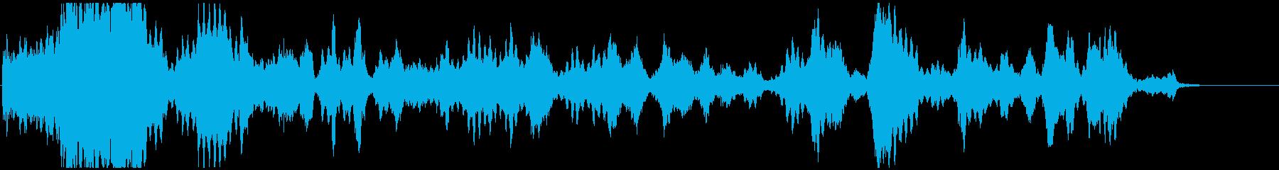 ひゅーどろどろ(浮遊音)の再生済みの波形