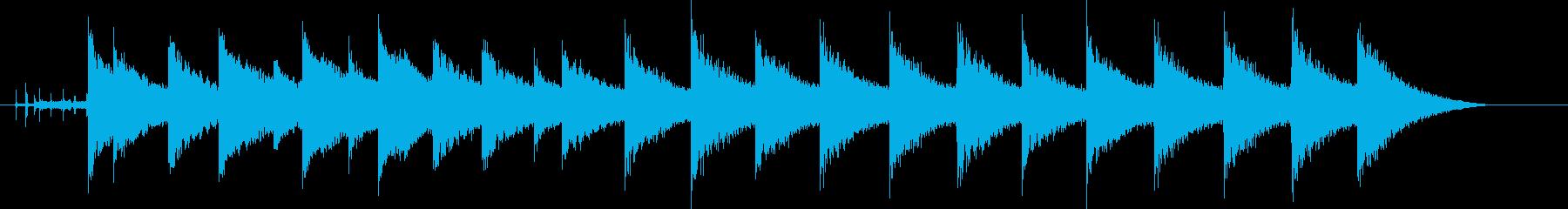 マンテル時計;チャイム;マンテル時...の再生済みの波形