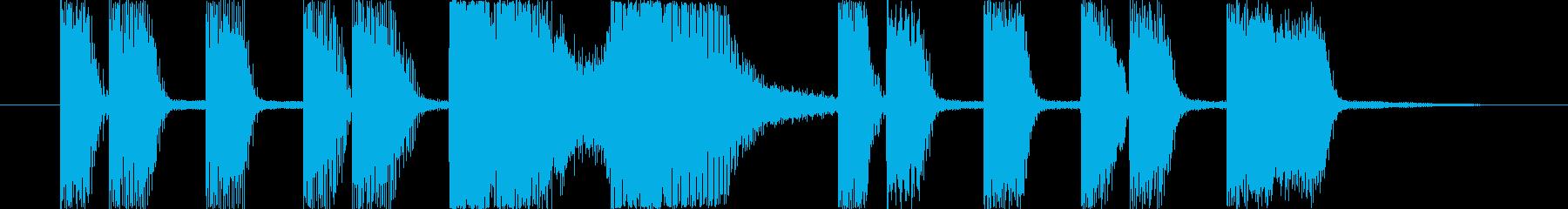 ゲーム 昭和レトロ 8bitの再生済みの波形