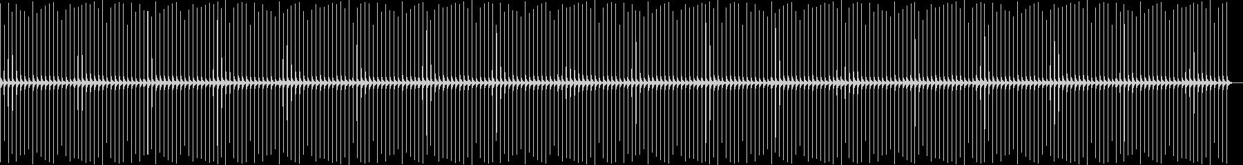 時計1 秒針 5分 エコーの未再生の波形