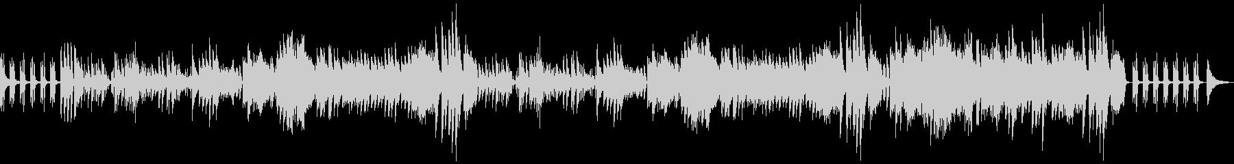 明るく軽くラグジュアリーなソロピアノ 1の未再生の波形
