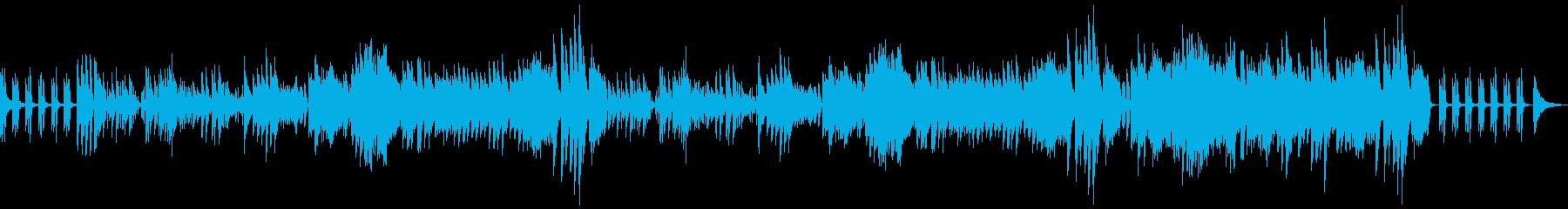明るく軽くラグジュアリーなソロピアノ 1の再生済みの波形