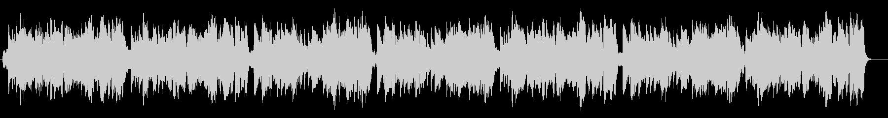 生演奏リコーダーでさわやかな朝のBGMの未再生の波形