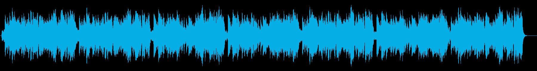 生演奏リコーダーでさわやかな朝のBGMの再生済みの波形