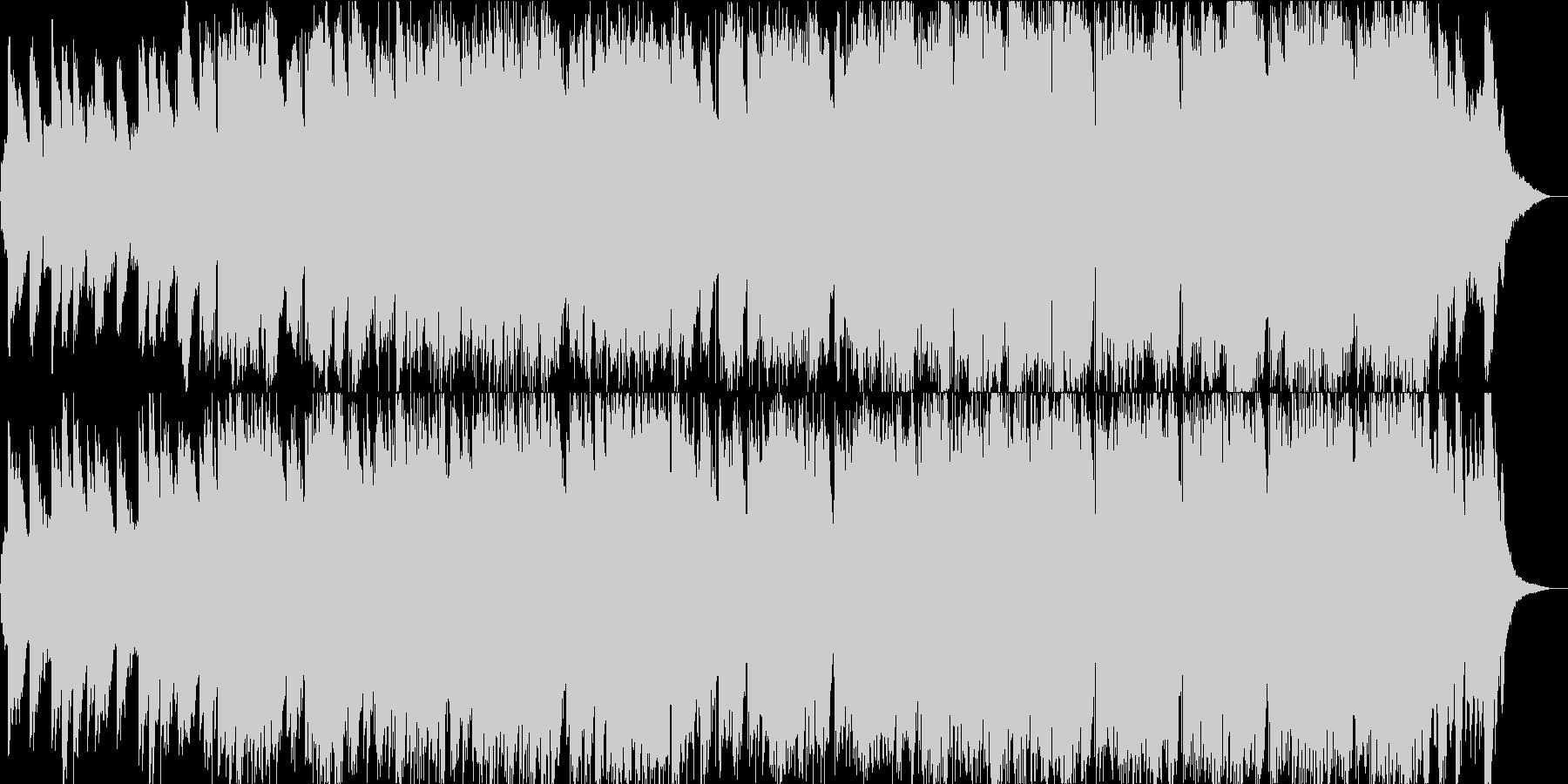 和風の笛の幻想的な音楽の未再生の波形