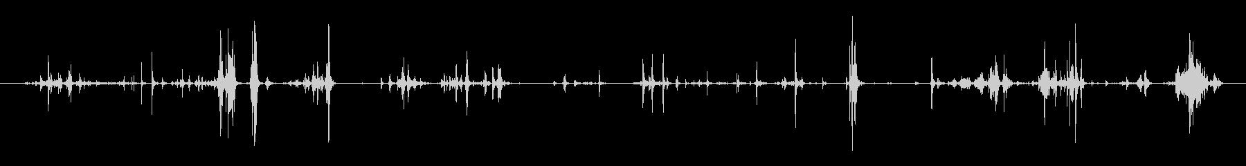 お金 コインビッグクラッターロング04の未再生の波形
