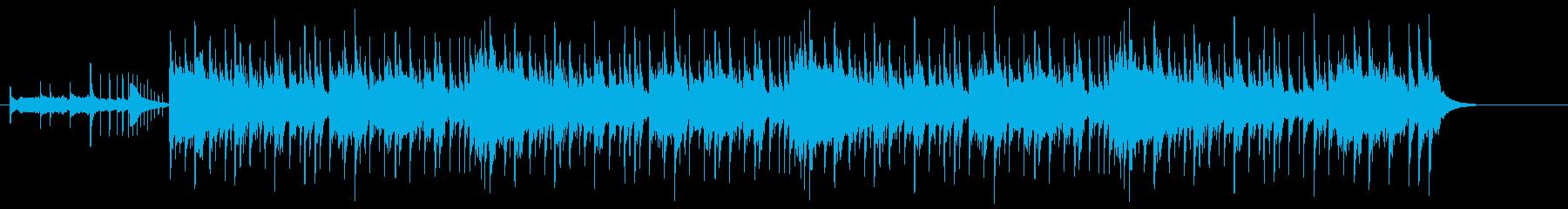 和楽器を多用した戦闘曲の再生済みの波形