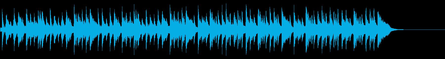 最初のワルツ集26番(シューベルト作曲)の再生済みの波形