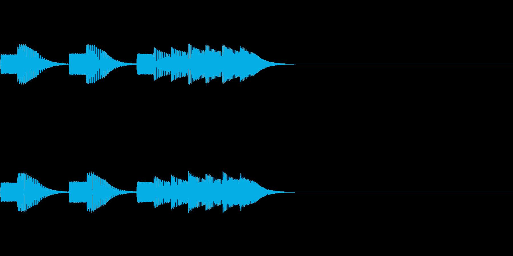 ゲーム_ポーズボタンを押すの再生済みの波形