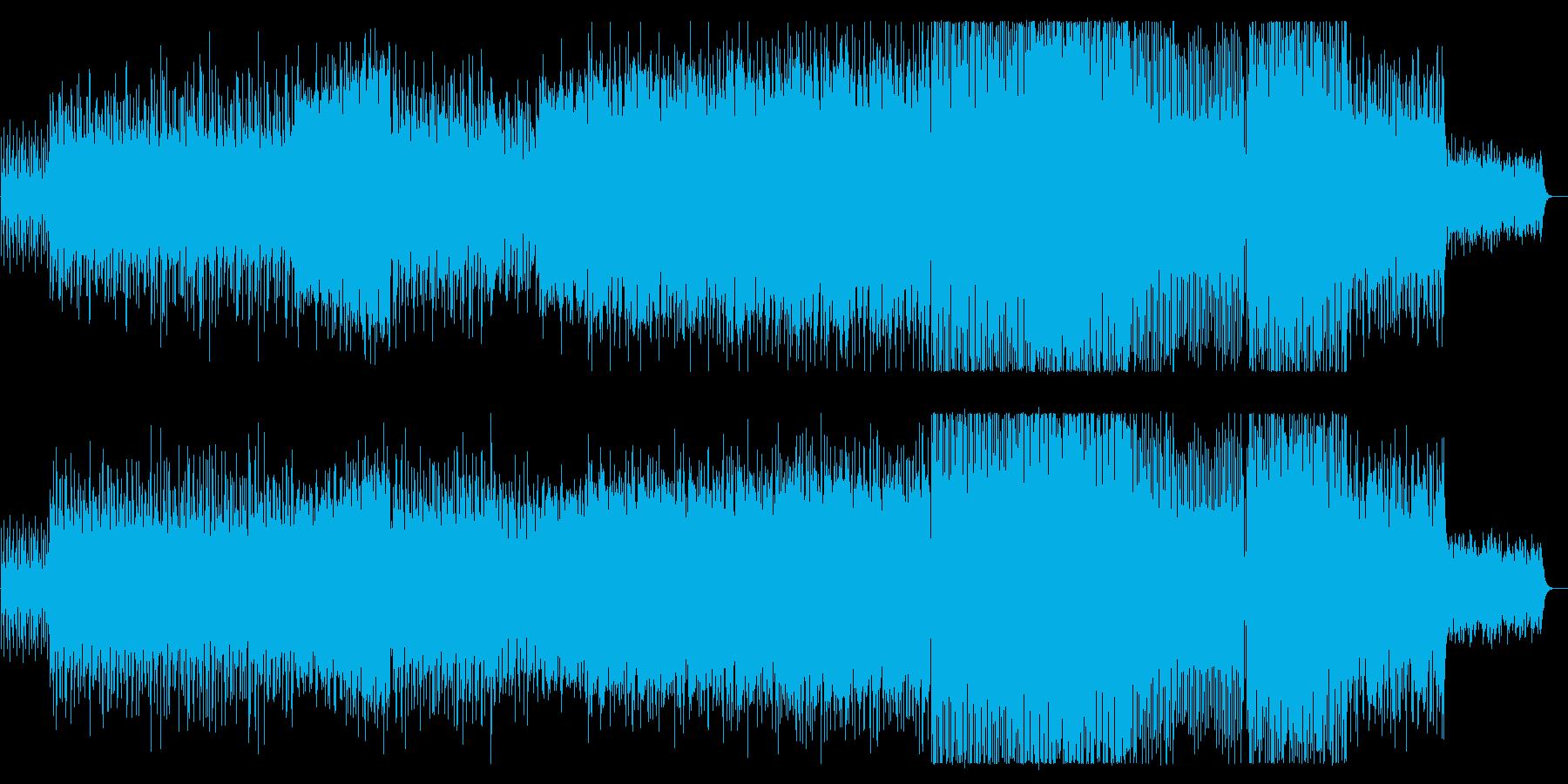 張り詰めた焦燥感が不気味なエレクトロニカの再生済みの波形