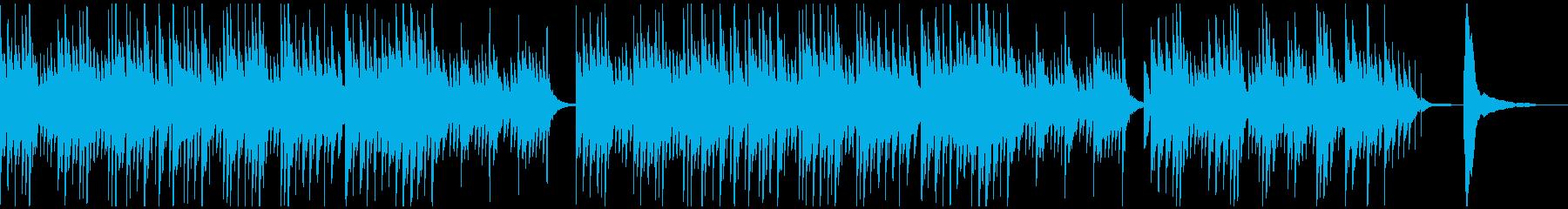 静かで切ない_幻想的なピアノソロの曲の再生済みの波形