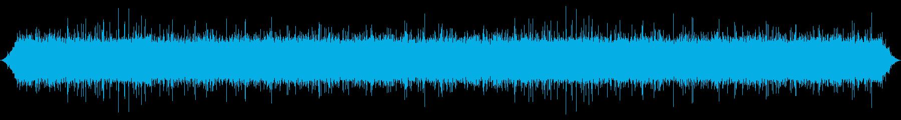 ストリーム:岩の上を流れる中流、激...の再生済みの波形