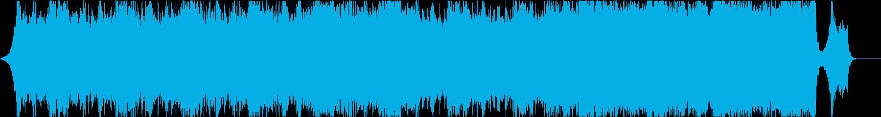 オーケストラ、エピック、シネマティックの再生済みの波形