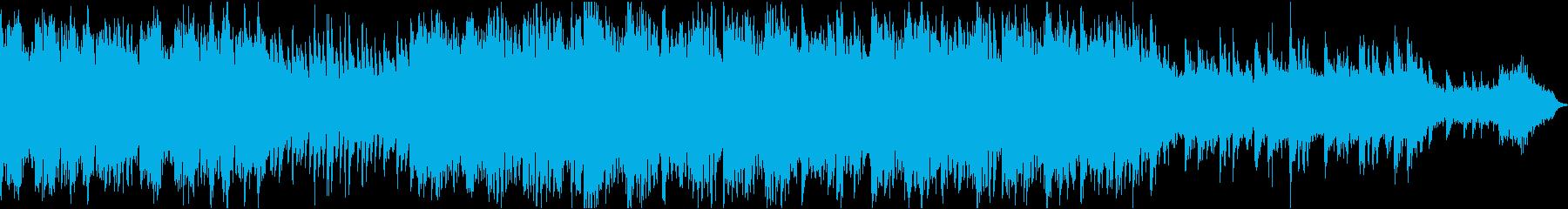 ほのぼの切ない和風曲(ループ)の再生済みの波形