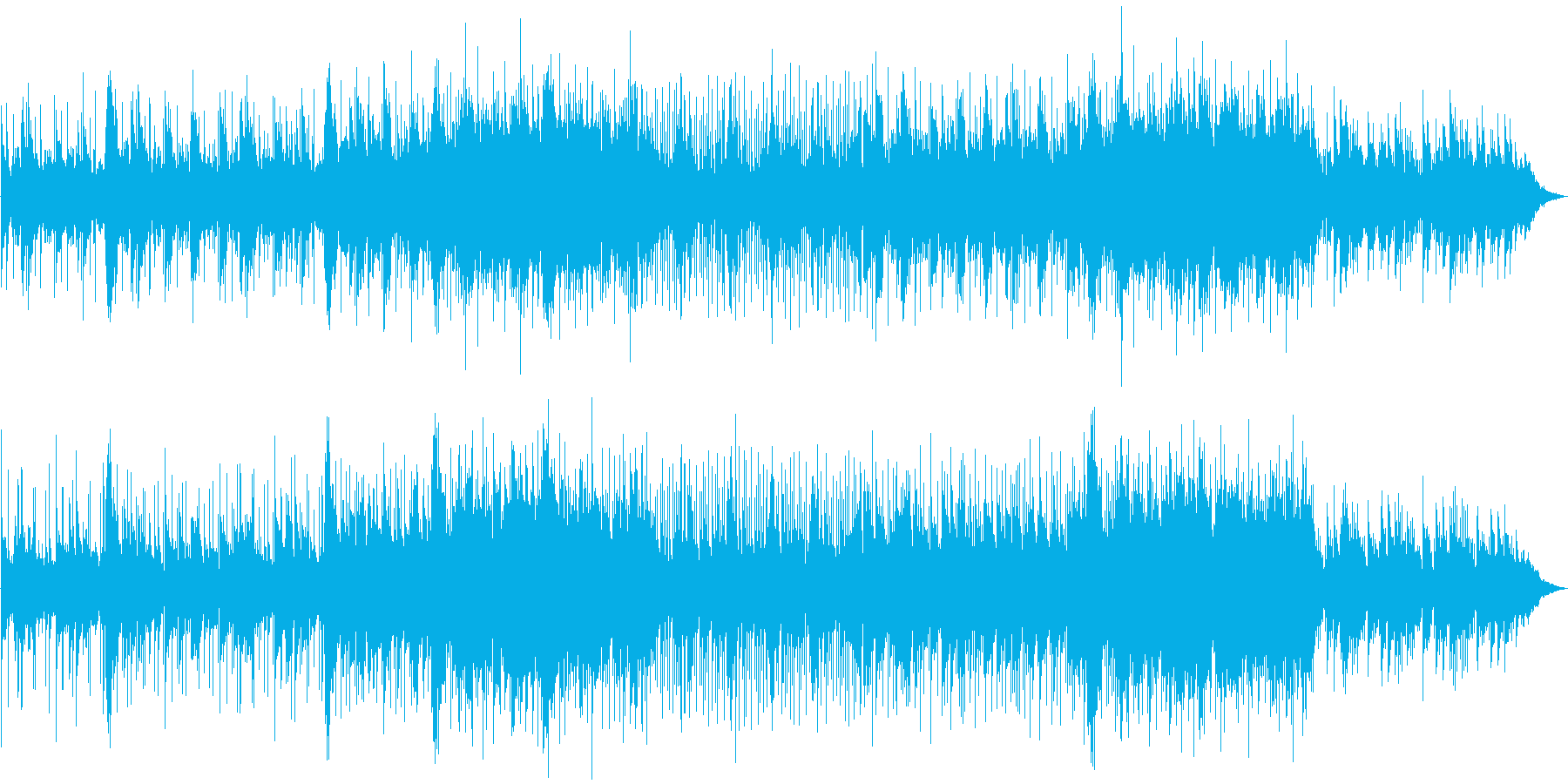 Melodic, loving a...'s reproduced waveform