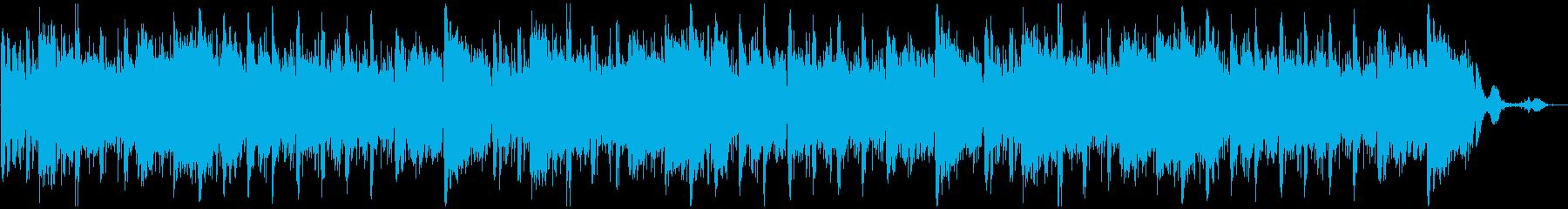 ヨガや瞑想・海の波音・朝日をイメージ の再生済みの波形