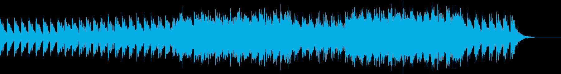 のどかな平原をイメージしたBGMの再生済みの波形