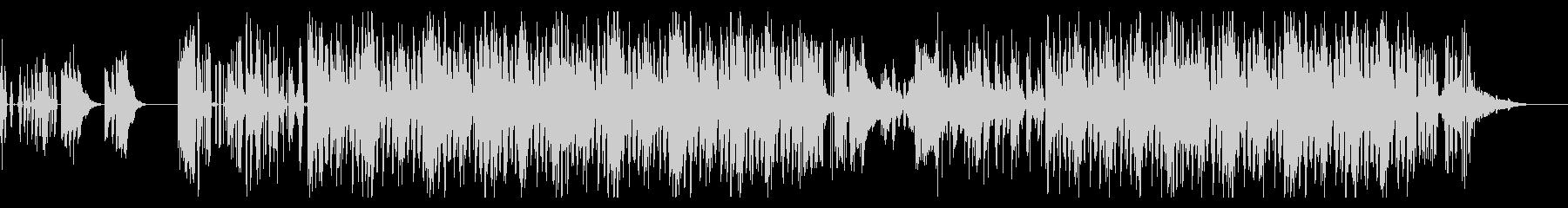 ローファイなヒップホップビートの未再生の波形