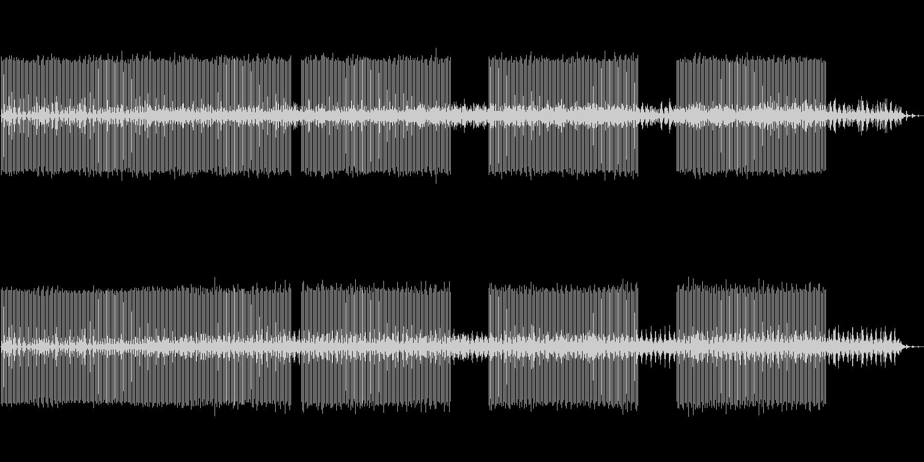 北欧的Deepダブテクノminimalの未再生の波形