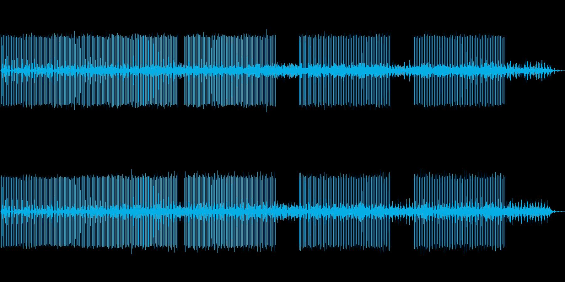 北欧的Deepダブテクノminimalの再生済みの波形